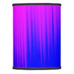 [ Thumbnail: Blue and Magenta Streaks Pattern Lamp Shade ]