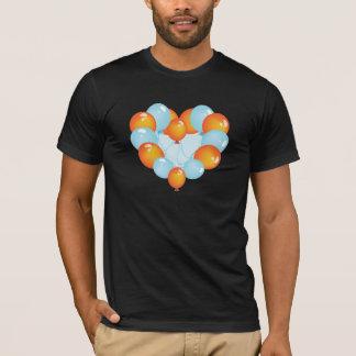 Blue And Orange Balloons Mens T-Shirt