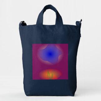 Blue and Orange in Pure Grape Juice Duck Bag