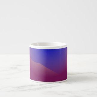 Blue and Orange in Pure Grape Juice Espresso Cup