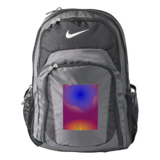 Blue and Orange in Pure Grape Juice Nike Backpack