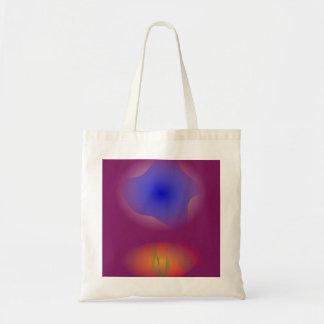 Blue and Orange in Pure Grape Juice Tote Bag