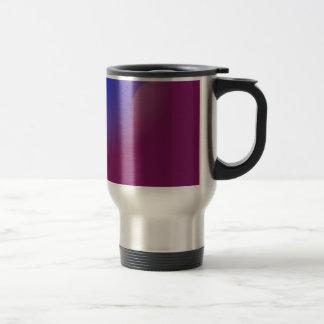 Blue and Orange in Pure Grape Juice Travel Mug