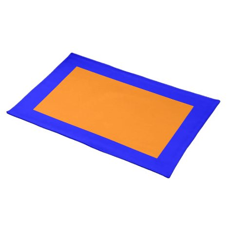 Blue and Orange Placemat