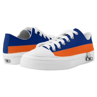 Blue and Orange Two-Tone Lo-Top