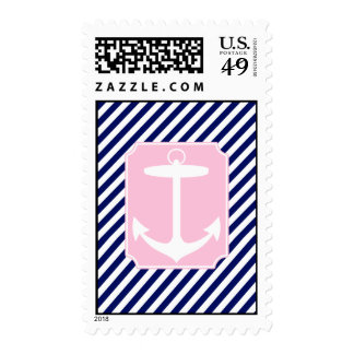 Blue and Pink Anchor Stamps