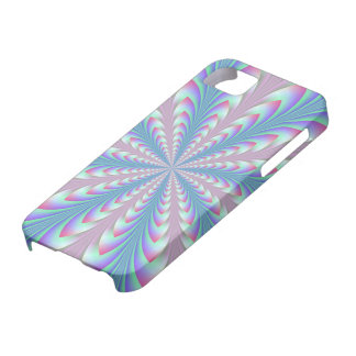 Blue and Pink Arrowhead iPhone 5 Barely There Case