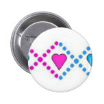 blue and pink [] buttons