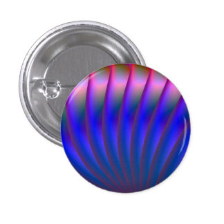 Blue and Pink Fan Button