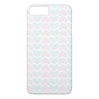 Blue and Pink Hearts iPhone 8 Plus/7 Plus Case