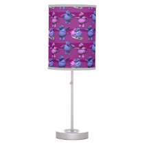 Blue and Pink Hippos Desk Lamp