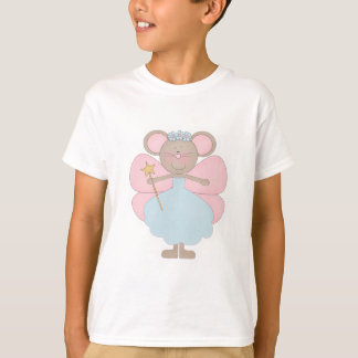 Blue and Pink Mouse Fairy T-Shirt