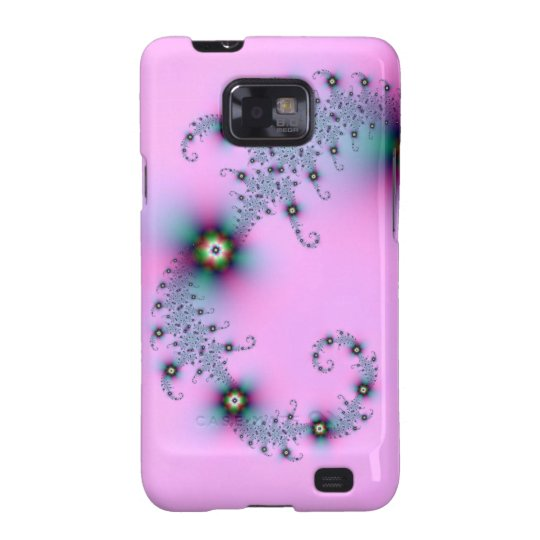 Blue and Pink Spiral Galaxy SII Case