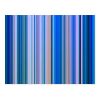 Blue and Pink Stripes Postcard