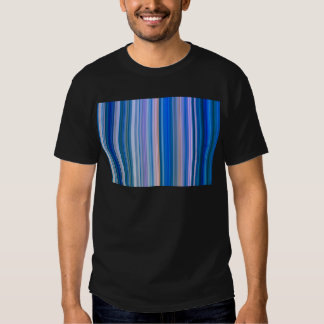 Blue and Pink Stripes T Shirt