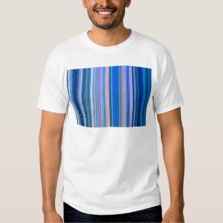 Blue and Pink Stripes T-shirt