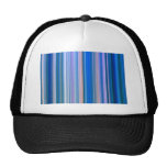 Blue and Pink Stripes Trucker Hat