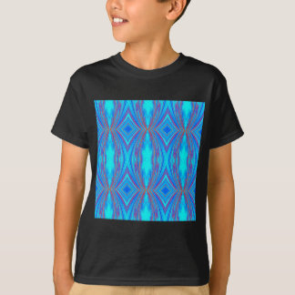 Blue And Pink Texture T-Shirt