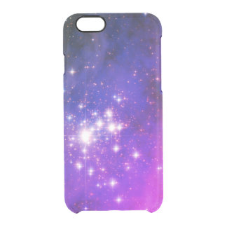 Blue and Pink Trumpler 14 Space Image Clear iPhone 6/6S Case