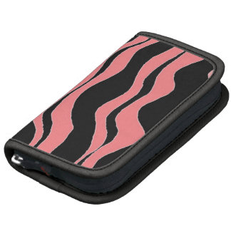 Blue and Pink Zebra Stripe Planners