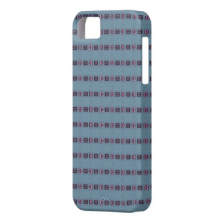 Blue and Purple 010 iPhone 5 Case