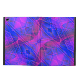 Blue and Purple Abstract Fractal iPad Air Case