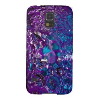 Blue and Purple Abstract Water Photograph Galaxy S5 Cover