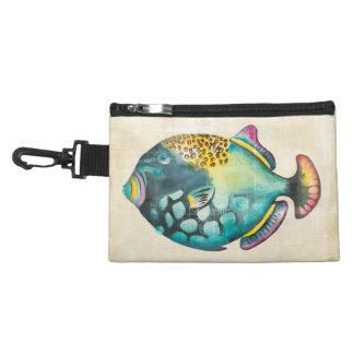 Blue and Purple Aquarium Fish Accessory Bag