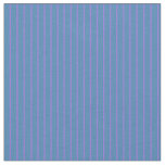 [ Thumbnail: Blue and Purple Colored Stripes/Lines Pattern Fabric ]