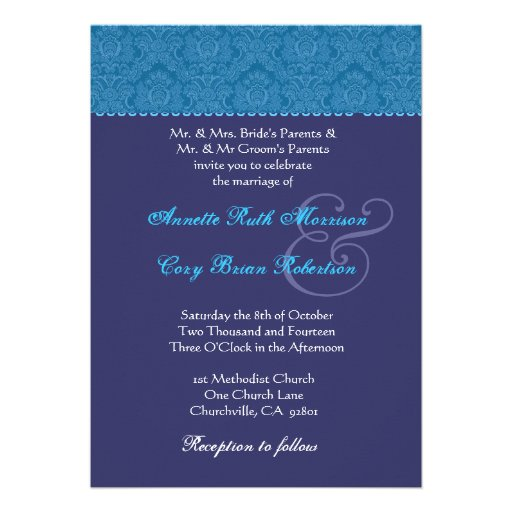 Purple And Blue Weding Invitations 013 - Purple And Blue Weding Invitations