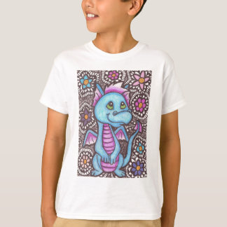 Blue and Purple Dragon T-Shirt
