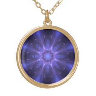 Blue and Purple Fantasy Necklace