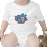 Blue and Purple Flowers T-shirts