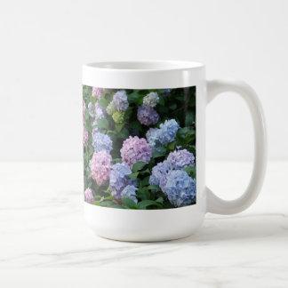 Blue and Purple Hydrangea Mug