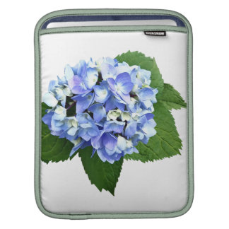 Blue and Purple Hydrangea Sleeve For iPads