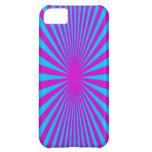 Blue and Purple hypnotized phone case iPhone 5C Cases
