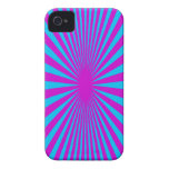 Blue and Purple hypnotized phone case Case-Mate iPhone 4 Case