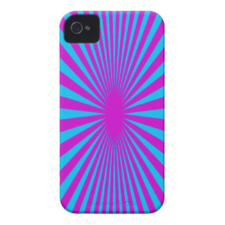 Blue and Purple hypnotized phone case iPhone 4 Cases