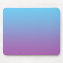 """Blue And Purple Ombre"" Mouse Pad"