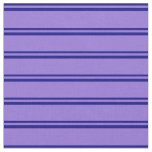 [ Thumbnail: Blue and Purple Pattern Fabric ]