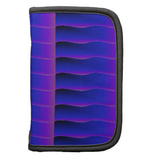 Blue and Purple Ribbons Organizer