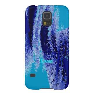 Blue and Purple Samsung Galaxy s5 case for Craig