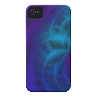 Blue and purple smear Case-Mate iPhone 4 cases