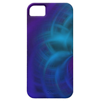 Blue and purple smear iPhone SE/5/5s case