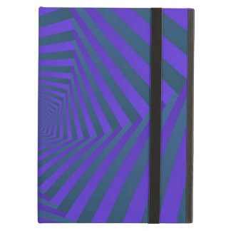 Blue and Purple Spiral Powis iCase for iPad Cover For iPad Air