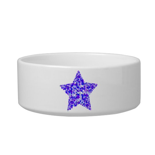 Blue and Purple Star of Stars Bowl