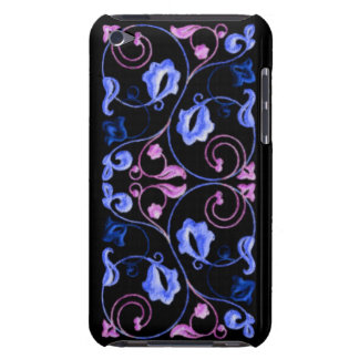 Blue and Purple Vine iPod Touch Case-Mate Case