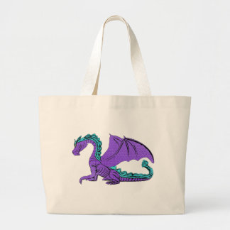Blue And Purple Winged Dragon Bags