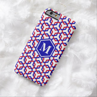 Blue and Red Hexes Phone Case