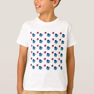 BLUE AND RED LADYBUGS T-Shirt